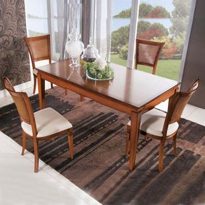 Giorgia GIORGIA3002, Table à manger avec rallonges