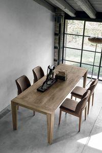 LEVANTE TA512, Table extensible en bois