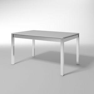 Lio, Table extensible, essentiel, pour salle à manger moderne