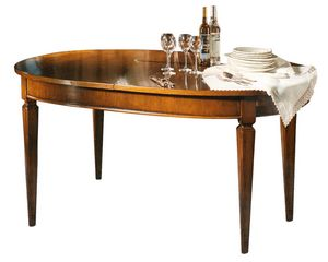 Metz VS.5525, Table extensible ovale Louis XVI