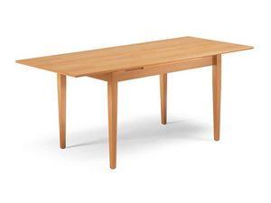 Paisà, Pour la table de salle à manger, jambes coniques extensibles