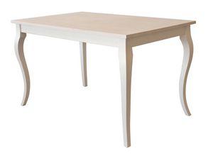 TA02, Table en bois extensible, pour les environnements de contrat
