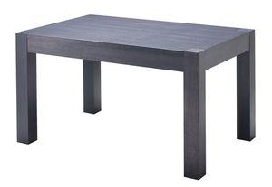 TA20, Moderne table extensible, plaqué chêne haut
