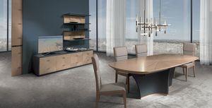 TA64K Desyo, Table extensible avec dessus incrusté