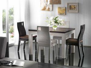 Table Hotel, Table extensible de style ethnique