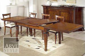 Tiziano table, Table classique avec extensions