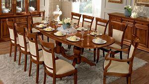 Treviso table ovale, Table ovale, pour salle à manger classique
