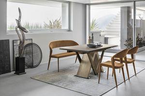 TRITONE 160 TA516, Table avec plateau en HPL
