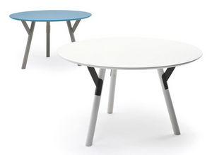 Link table, Table extensible en acier, différentes finitions, pour l'extérieur