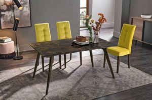 SYNCRO 150 TA1B4, Table à manger avec plateau en grès cérame