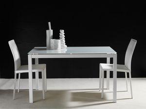 Art. 635 Majestic, Table extensible, avec extension de paquet