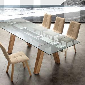 Art. 654 Caronte, Table extensible, pour le bureau ou la salle à manger