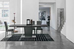 COPERNICO 160 TA196, Table extensible avec dessus personnalisable