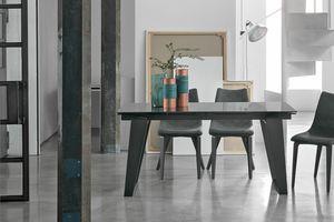 ZEUS 160 TA1A9, Table extensible pour salon moderne