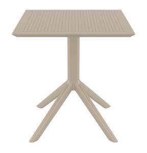 Bistrot, Tables d'extérieur en résine solide