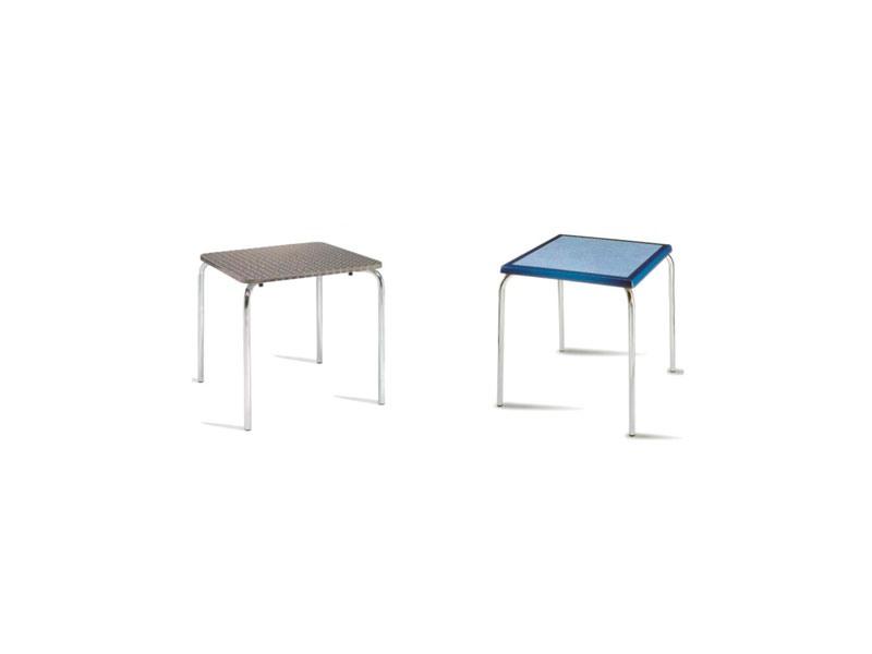 FT 028, Café moderne Table empilable pour bar et restaurants