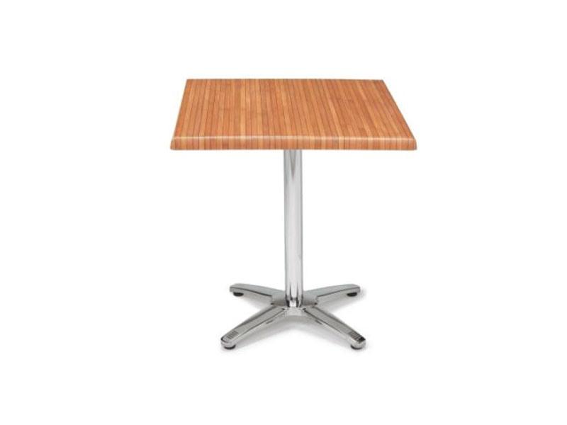 FT 048, Table pliante de bar, werzalit carré en haut