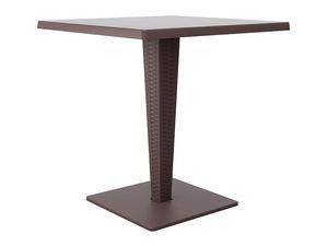 Ice-R, Table basse moderne pour les pubs, la lumière, en plein air