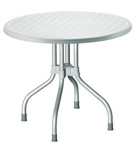 Ribalto Top, Table jardin, plateau rabattable