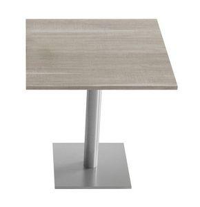 Sempronio, Table de bar, avec une base de métal et de la colonne, en haut disponible dans de nombreuses variantes