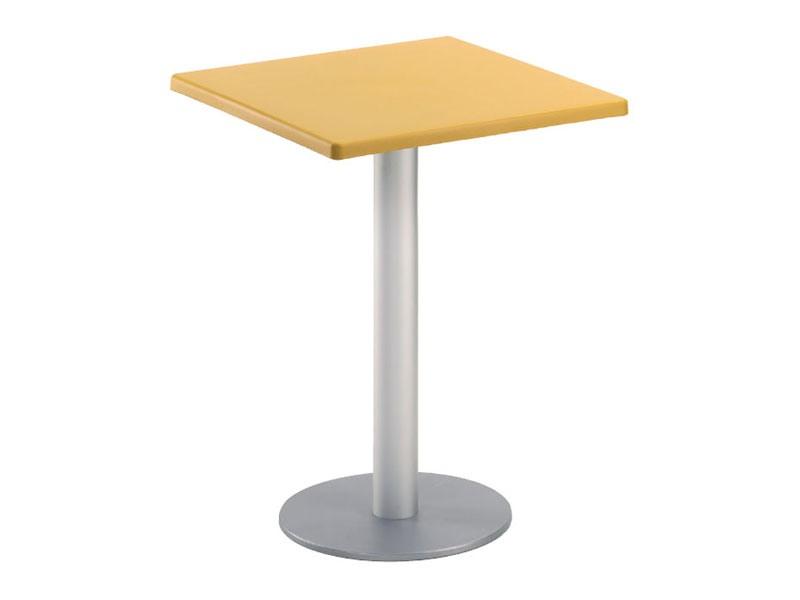 Table 60x60 cod. 20/BR, Place du café table de bar, pour le jardin