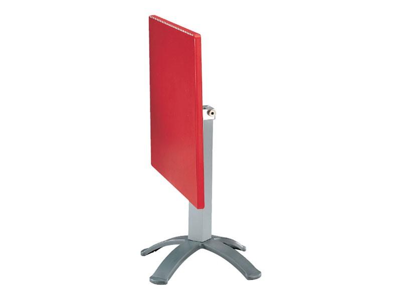 Table 72x72 cod. 06/BG4P, Table pliante en plein air, dans le polymère et de l'aluminium