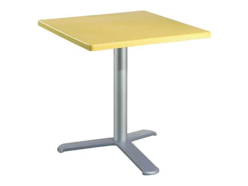 Table 80x80 cod. 23/BG3L, Table de résistant aux intempéries pour le restaurant en plein air
