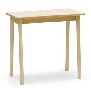 Table à café Desk, Table basse en bois de hêtre, idéal pour les bars et tavernes