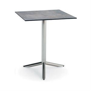 Vortice Q, Table à usage contractuel, dessus carré