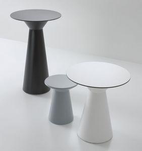 Roller tavolo 110, Table haute pour les bars, en polymère, par externe