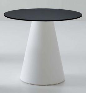 Roller tavolo 56, Table de bar, de plastique, de la conception