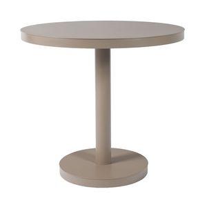 Basel O80, Table ronde pour les bars, en aluminium, en acier, fabriqué en CE