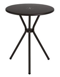 Leo, Table en métal pour jardin, diamètre 60 cm