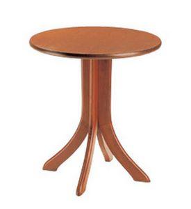 604, Table ronde pour les bars et restaurants, avec une base de hêtre