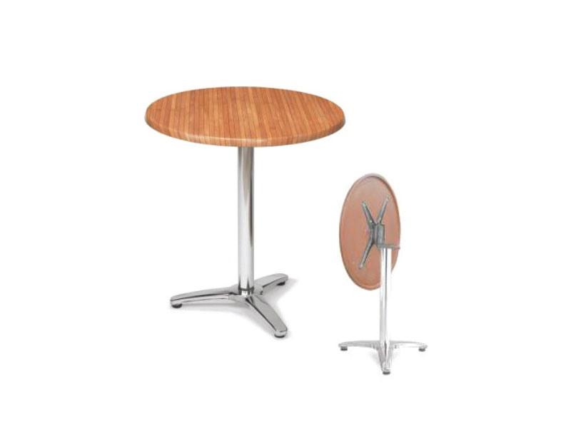 FT 047, Table pliante, werzalit haut, pour une utilisation du contrat