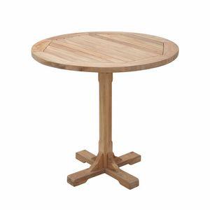 Regista 0701, Table à une jambe, ronde, pour l'extérieur