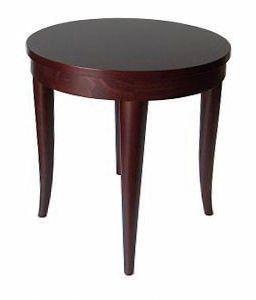 TA12, Table basse en bois de hêtre, pour les bars, restaurants, cafés