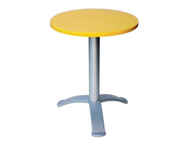 Table Ø 60 cod. 04/BG3, Moderne table de café, de cafés en plein air
