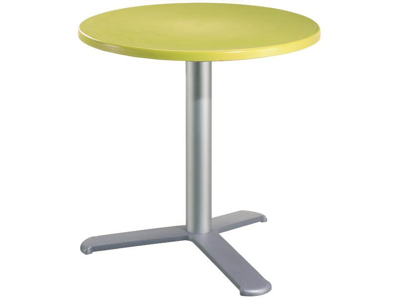 Table Ø 60 cod. 04/BG3L, Outdoor table de bar, polypropylène top