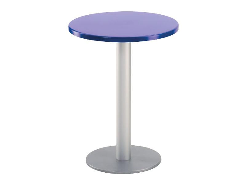 Table Ø 60 cod. 04/BR, Table ronde pour la barre en plein air