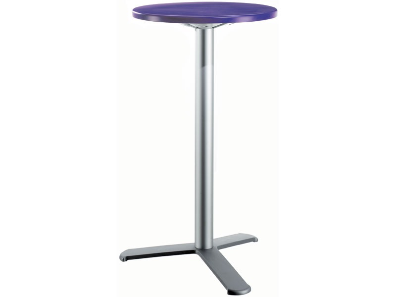 Table Ø 60 h 110 cod. 08/BG3L, Table d'appoint haute contemporain pour Snack bar