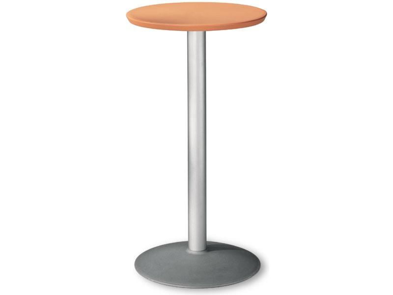 Table Ø 60 h 110 cod. 08/BT54, Table ronde inoxydable pour une utilisation externe