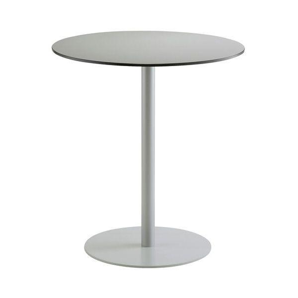 Voilà round h75, Table de bar, plateau rond en HPL, disponibles en différentes tailles
