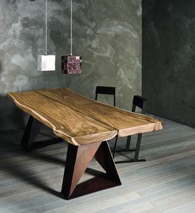 Dasar, Table en chêne massif ou en suar