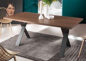 Flip, Table avec pieds en X