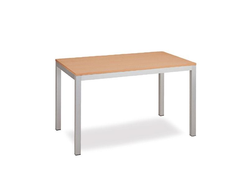 FT 044 rectangulaire, Table avec un design propre, en métal, pour la salle de réunion