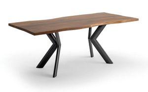 Joker, Table avec plateau en bois plaqué