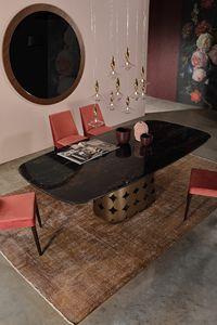POIS, Table fixe, avec base artistique