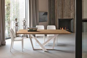 PRIAMO TP157, Table avec base décorative élégante