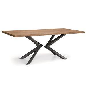 Shift-U, Table avec plateau en bois massif